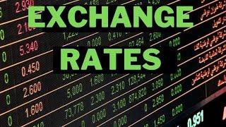 EXCHANGE RATES || MATHS LITERACY