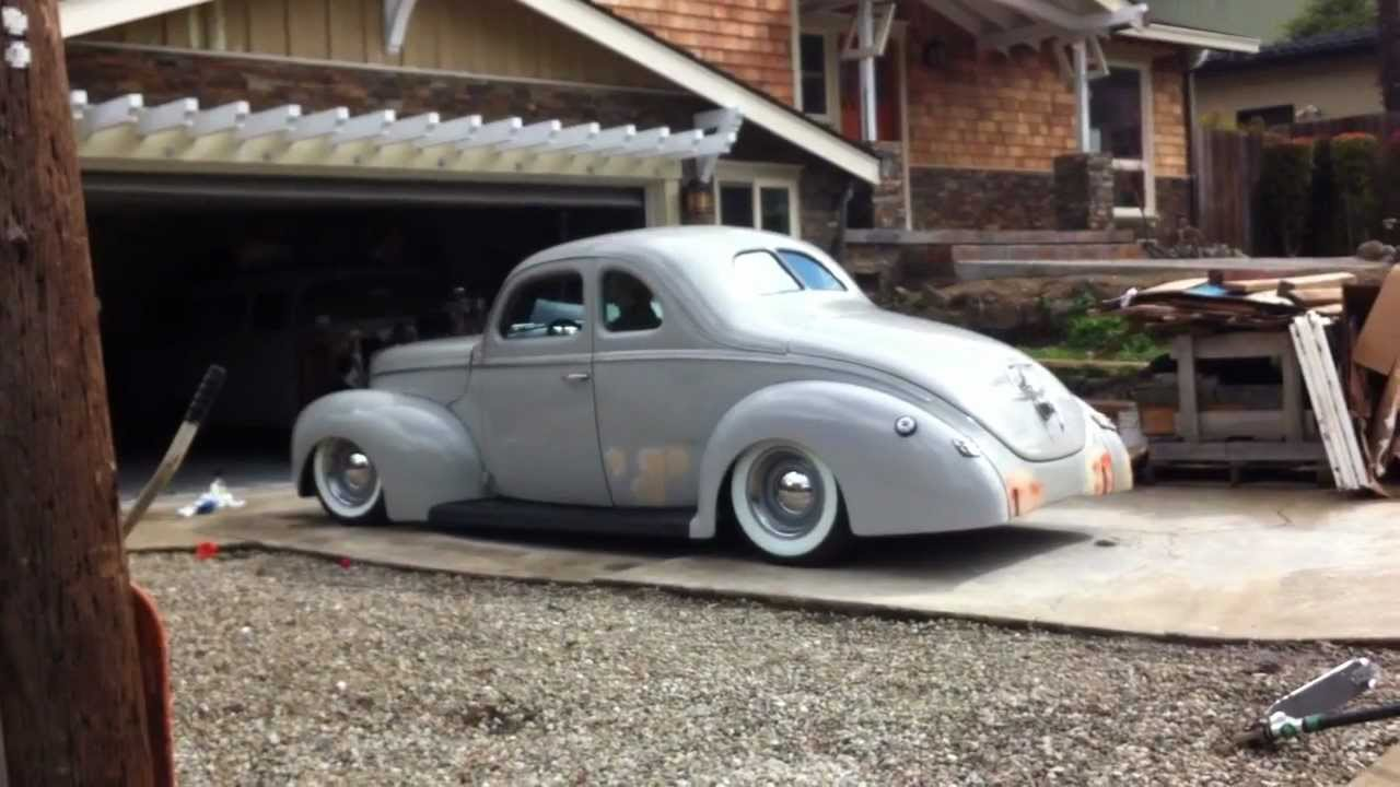 1940 Chevy Truck >> Air Bagged 1940 Ford - YouTube