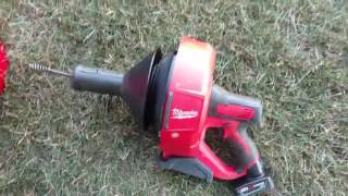 Milwaukee M12 Drain Auger- A Few Considerations