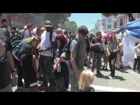 Haight st Fair -San Francisco 6 11 2017