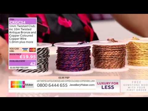 How to make Gemstone Jewellery - JewelleryMaker LIVE (AM)  22/08/2014