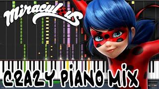 Crazy Piano! MIRACULOUS LADYBUG THEME