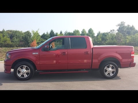 SOLD.2007 FORD F-150 SUPER CREW FX2 SPORT 1 OWNER 17OK FOR SALE CALL 855-507-8520