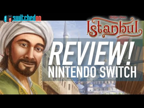 Istanbul (Switch) Review - BEST Digital Board Game??