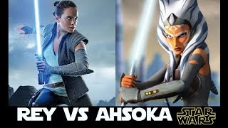Rey vs Ahsoka: A Character Cross-examination Battle