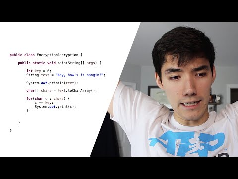 Java Encryption and Decryption Tutorial (Basic)