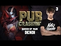Pubs Crashing: Dendi on Queen of Pain vol.3