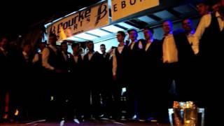 Mick Clohessy sings Slievenamon with the Tipperary team.