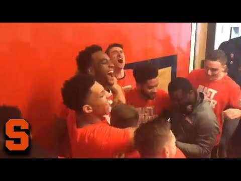 Syracuse Goes Crazy When NCAA Tournament Bid Announced