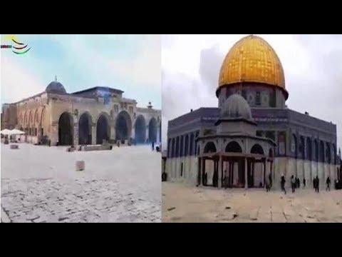 Masjid Al-Aqsa,  Al-Quds, Palestine, Friday 15th December 2017