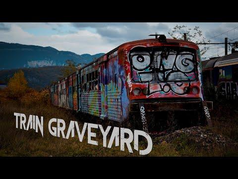 VISUAL URBEX #5 - Train Graveyard in the Alps (Savoie France)