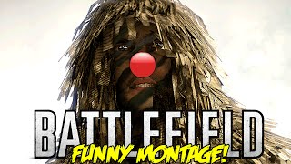 Battlefield Funny Montage! Azzy The Red Nose Reindeer, 360 No Scope Contest ,RAGE (BF Funny Moments)