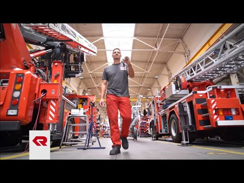 """Service creates safety"" - Rosenbauer service"
