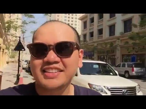Strolling at the pearl qatar
