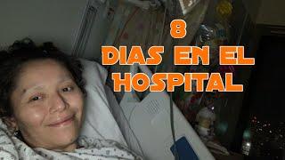 8 dias en el hospital 🏥 me restringieron las visitas🙏🏻Vlogs diarios Bronx New York🕊 Video