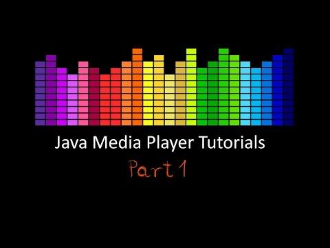 Java Media Player Tutorials: Part 1