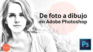 Efecto de dibujo en Photoshop | HD | Tutorial en Español