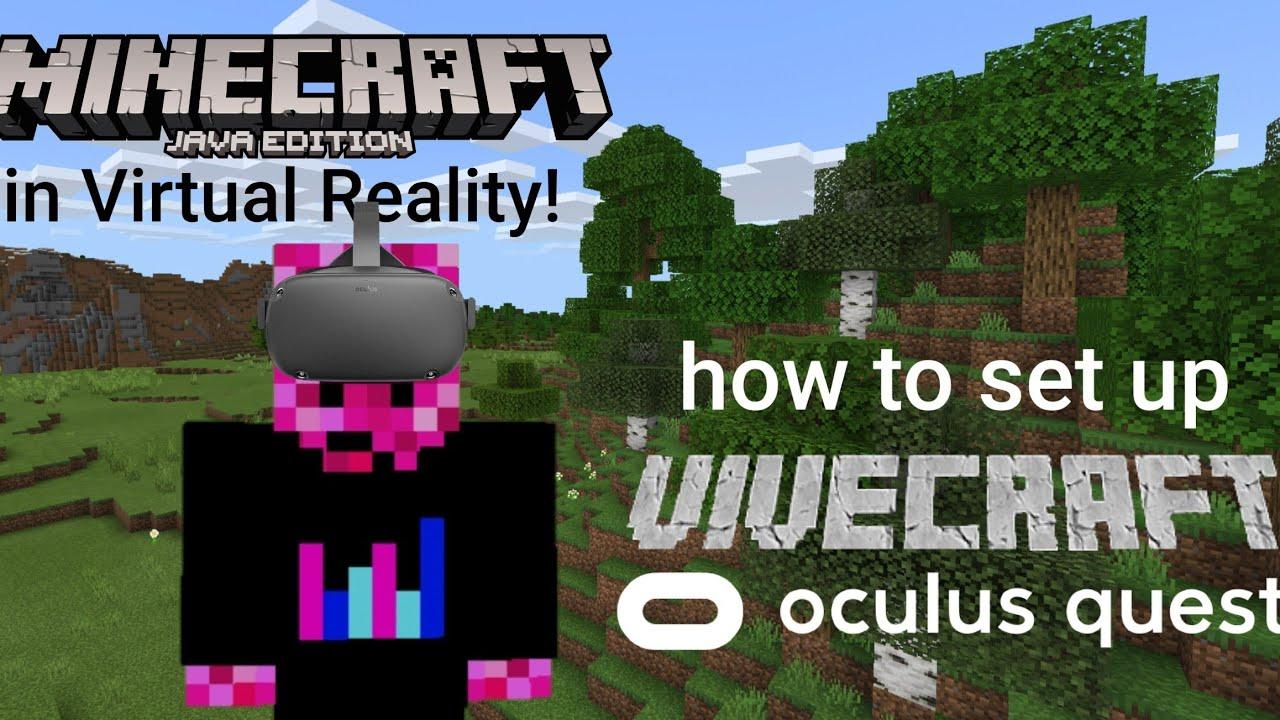 Vivecraft on Oculus Quest (using Oculus Link) - Minecraft Java in VR!