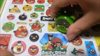 앵그리 버드의 스티커북!!!  (Angry Birds&…