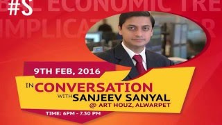 Swarajya Conversations with Sanjeev Sanyal - Chennai 9 Feb 2016