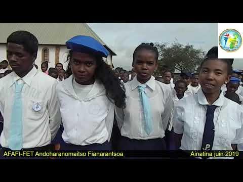 AFAFI FET Andoharanomaitso Fianarantsoa Teny tonga Nofo Nofo tonga Mofo Mofo zary Aina