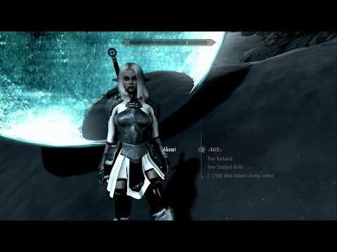 Skyrim (mods) - Helena - Spotlight On: Asherz - Akemi The Snowelf Follower - Champion Of Auri-El