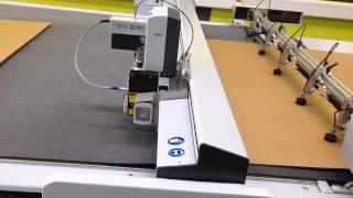 Installation ZÜND G3 XL-3200 Inkl. Board Handling System