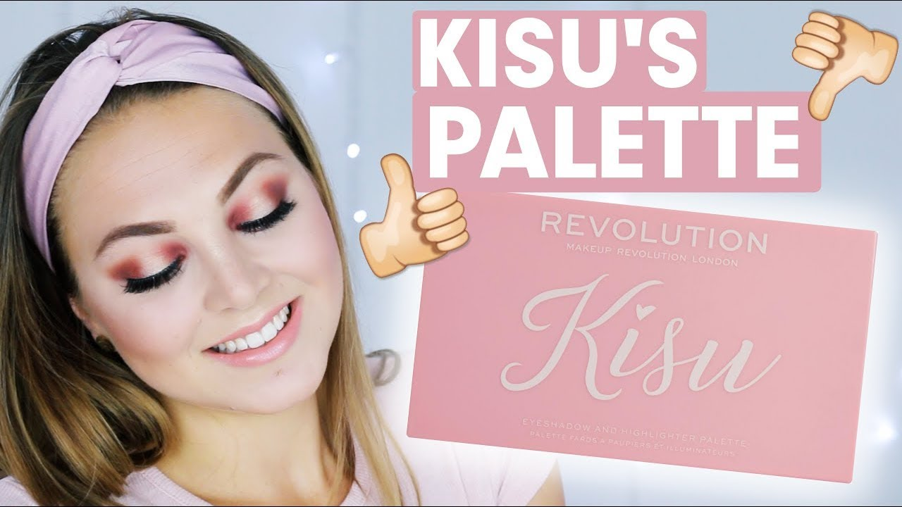 Makeup revolution kisu palette