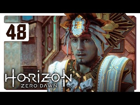 Let's Play Horizon Zero Dawn Blind Part 48 - Sun King Avad [Horizon Zero Dawn PS4 Gameplay]
