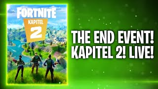 THE END EVENT! FORTNITE KAPITEL 2! 🔥 | Fortnite: Battle Royale