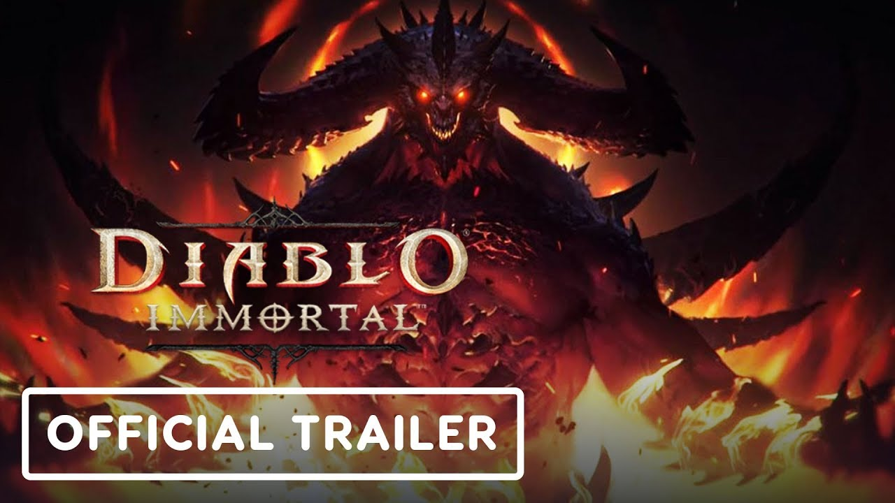 Diablo Immortal - Official Gameplay Trailer | BlizzCon 2019