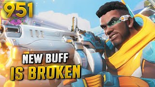 *NEW DPS!?* BAPTISTE BUFF IS OP AF!! | Overwatch Daily Moments Ep.951 (Funny and Random Moments)