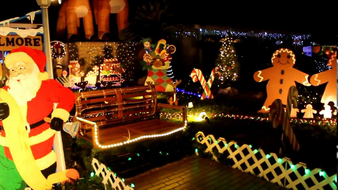 Chino California - The Christmas Lights of Chino!!! AWESOME!! - YouTube