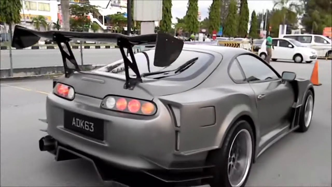 Toyota Supra Widebody Jza80 Clean Supra Youtube