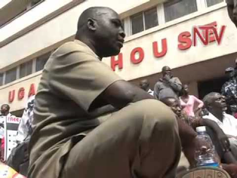 Free Uganda campaigners blocked