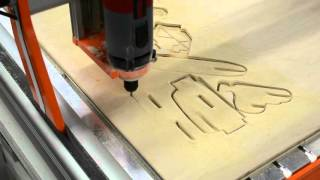Making a 3D F-15 Fighter Jet Puzzle  with a STEPCRAFT CNC System