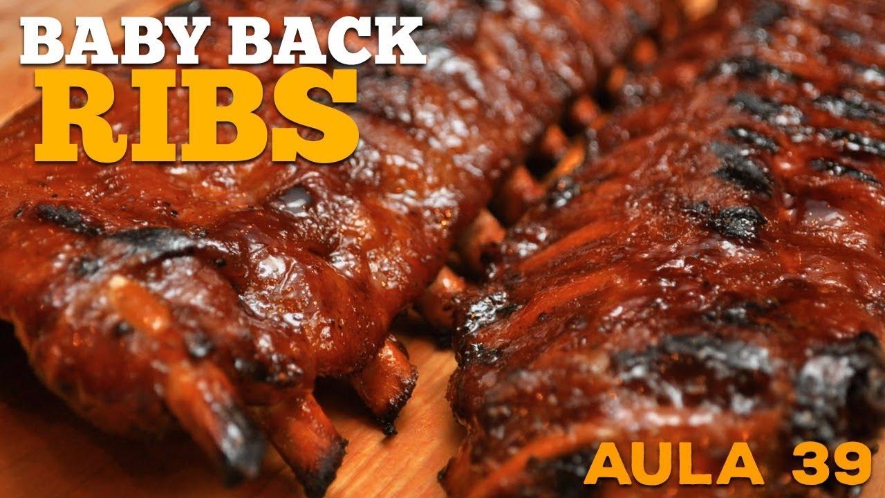 Baby Back Ribs (Receita de Costelinha Barbecue) - Cansei de Ser Chef