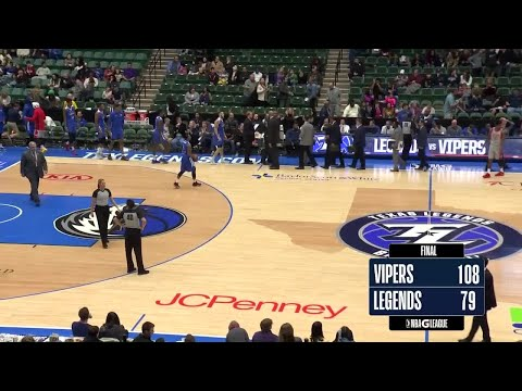 Texas Legends vs. Rio Grande Valley Vipers - Condensed Game