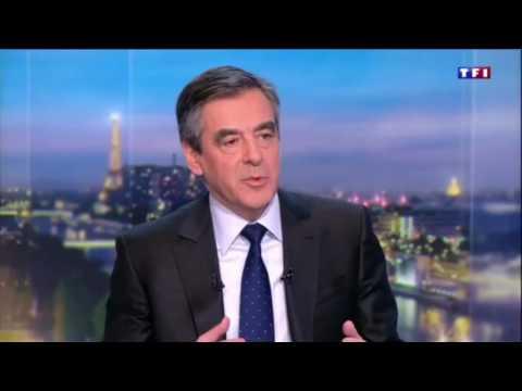 1ère interview de F. Fillon depuis la primaire - 3 janvier 2017