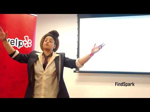 Mojdeh 1 Performance at Black History Month Spoken Word Happy Hour by FindSpark at Yelp, Chicago
