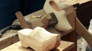 Dutch Clogs (klomp), Sabot Hollandais, Making Of The Dutch Wooden Shoes