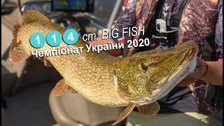 Щука монстр в Днепре Чемпионат Украины 2020