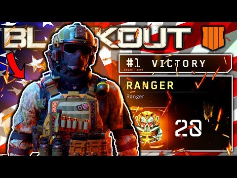 "HOW TO UNLOCK CHARACTERS IN BLACKOUT ""RANGER"" UNLOCK AT 20th ECHELON (CALL OF DUTY BLACK OPS 4)"