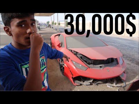 BUYING A CRASHED LAMBORGHINI HURACAN IN DUBAI