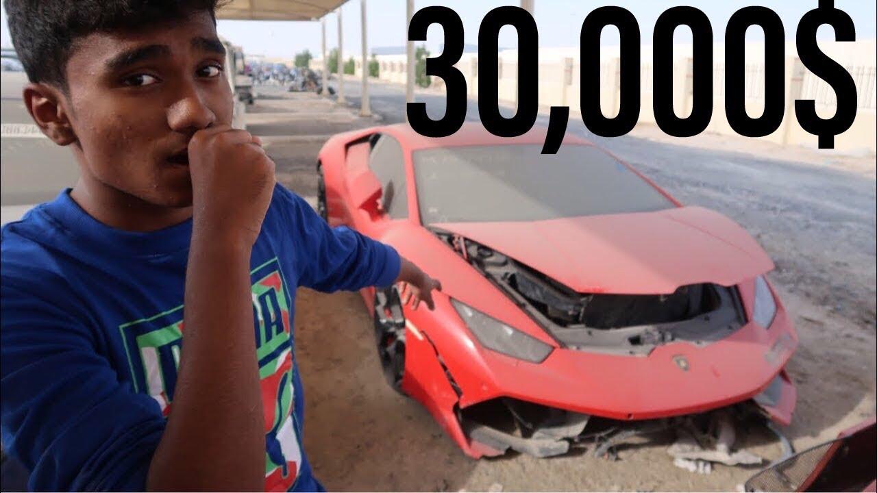 Buying A Crashed Lamborghini Huracan In Dubai Youtube