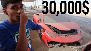 BUYING A CRASHED LAMBORGHINI HURACAN IN DUBAI