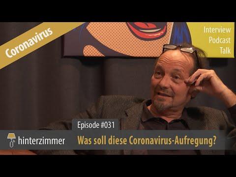 Was soll diese Coronavirus-Aufregung? | Fakten von Dr. Peter Kreidl | PODCAST | Hinterzimmer #031