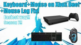 How To Use Keyboard and Mouse On Xbox Fortnite!! / How to Fix Mouse Delay Xbox
