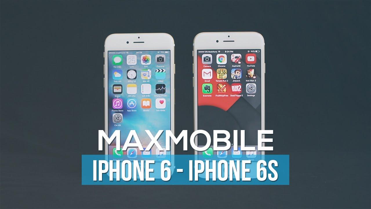 Phân biệt iPhone 6S và iPhone 6?