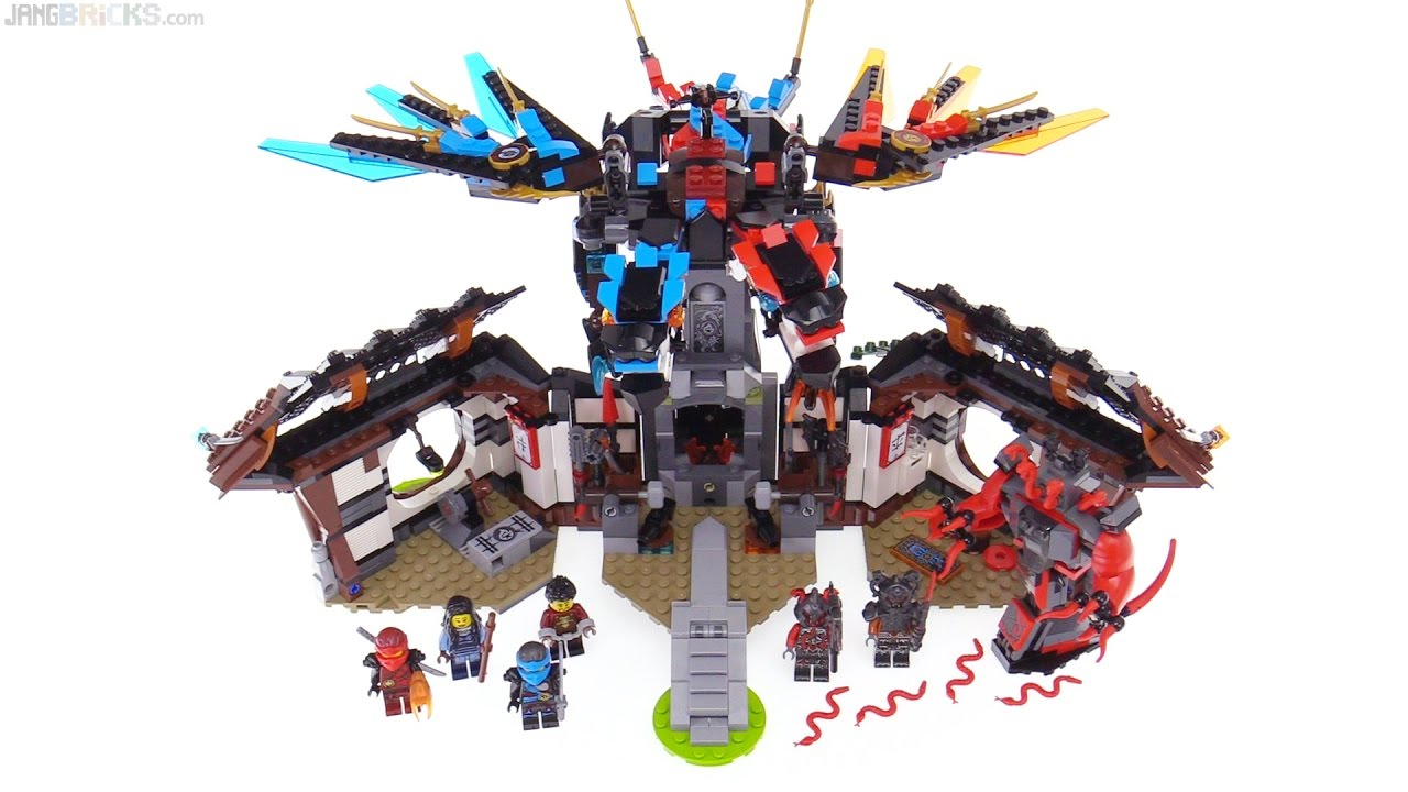 lego ninjago dragons forge review 70627 youtube